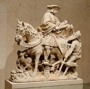 Riding_Saint_Martin_sharing_his_Cloak_with_a_Beggar